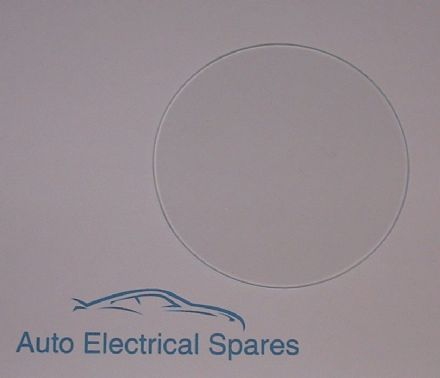 010169 FLAT glass 88mm for SMITHS SSM Magnetic gauges
